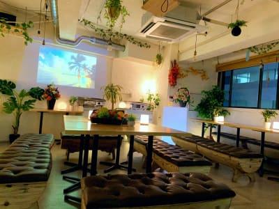 渋谷ガーデンホールの室内の写真