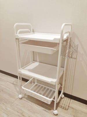 ORIGO Tenjin #1 客室サロンスペース(101号室)の設備の写真