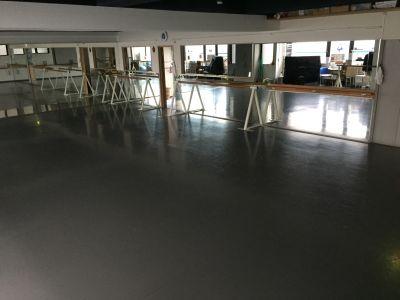 レンタルスタジオ X ダンススペース 更衣室の室内の写真