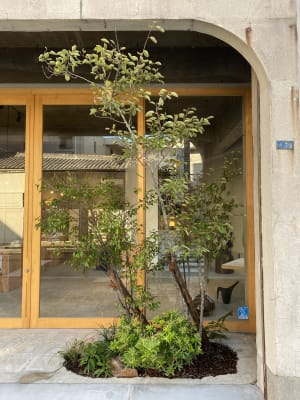 itotoギャラリー レンタルスペースの入口の写真