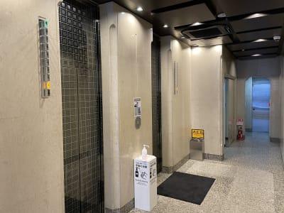 エレベータ - 神栄ビル レンタルスペース 会議室301-1の室内の写真