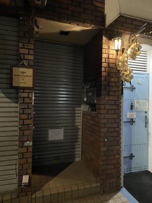 レンタルスタジオWPG秋葉原 宝生ビル地下一階一号室の入口の写真