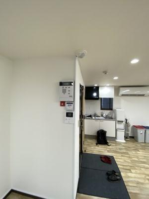 警備機器 - JCMGスクール 駒川中野校 音楽スタジオの室内の写真