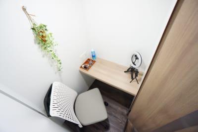 【ミニマルワークスペース上野】 ミニマルワーク上野スタンダードCの室内の写真