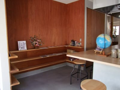 ぐるぐるそだつながや ぐるぐるそだつながやキッチンの室内の写真