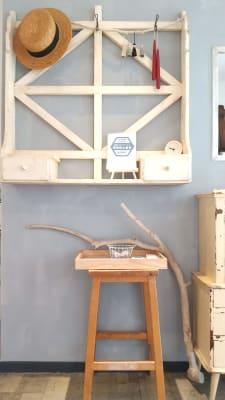 新型コロナウイルス感染防止宣言ステッカー - 薬院のはこ レンタルサロン/レンタルスペースの室内の写真