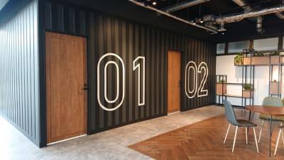 レンタルスペースDreambox ライブコマース撮影スタジオの入口の写真