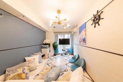 145_Santorini池袋 キッチンスペースの室内の写真
