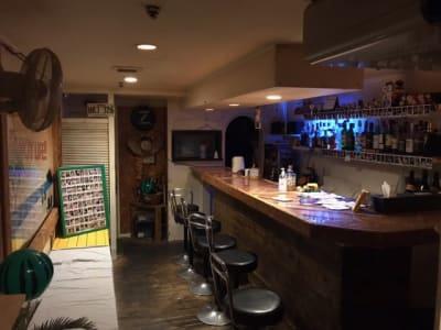 Bar Coco Palm  レンタルバーの室内の写真