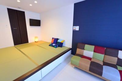 ゲストハウス岐阜羽島心音 フルキッチン付きレンタル個室の室内の写真