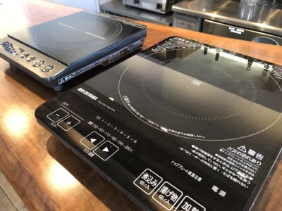 IHプレートの出番!鍋! - Koru Takanawa 貸切カフェキッチン・撮影スタジオの設備の写真
