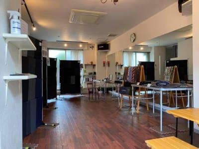 展示会なども利用可能 - GALAXYダンススタジオ イベントスペースの室内の写真