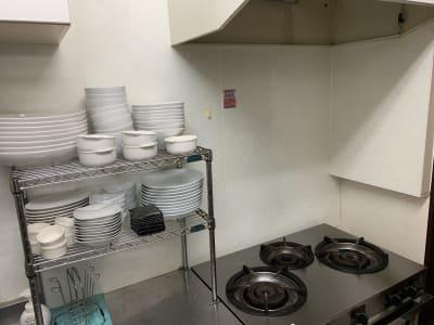 調理場の画像です。 - cafe bar Nagomi クラウドキッチン飲食店開業最適!の室内の写真