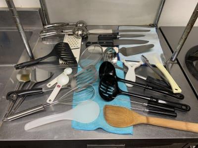 調理器具も揃っています。 ※画像以外も様々あります。 - cafe bar Nagomi クラウドキッチン飲食店開業最適!の室内の写真
