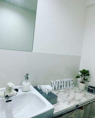 お手洗い - WHITE GYM 渋谷店 WHITEGYM渋谷店の室内の写真