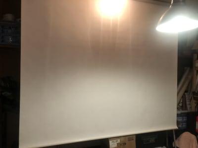巨大スクリーン - 東逗子エントランス レンタルスペースA 半日貸切の設備の写真