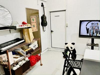 動画撮影・配信収録スタジオ秋葉原 黒壁&グリーンバッククロマキーRの外観の写真