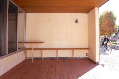 【宇都宮】かまがわポケット 屋外イベントスペースの室内の写真