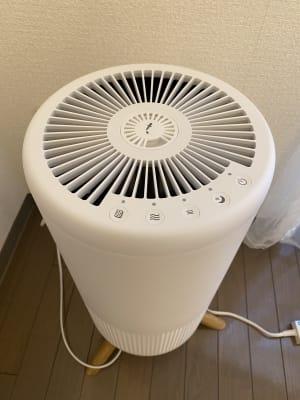 コロナ対策 空気清浄機 - NUMA部屋|梅田① 梅田 推し不在の誕生日会スペースの設備の写真
