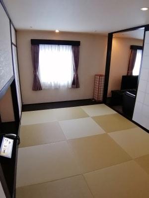 浅草セントラルホテル 和洋室 の室内の写真