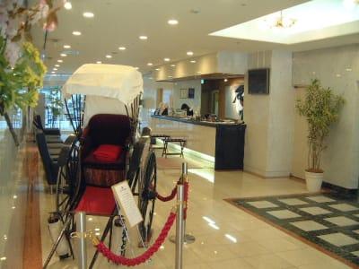 浅草セントラルホテル 和洋室 の入口の写真