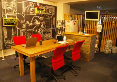 トーキョーグレートツアーズ カヤック体験付きワークスペースの室内の写真