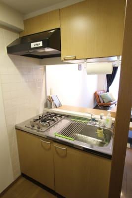 コンパクトで使いやすいキッチン。 - さくらスペース テレワーク、女子会、会議室の室内の写真
