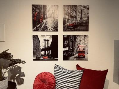 素敵なお写真も沢山お撮りください♪ - SMILE+ルージュ心斎橋 パーティスペース、打ち合わせ会議の室内の写真