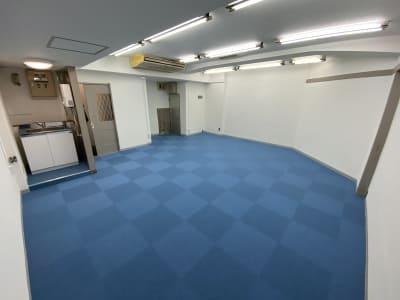 ダンス可能!広々スペース! - ブルースペース上野御徒町 レンタルスペース・ダンススタジオの室内の写真