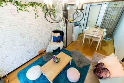 エルズひめ 渋谷駅近3分✨姫系デザイナーズの室内の写真