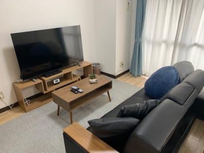 シンプルでスタイリッシュな空間です。 - AXA舟入 多目的スペース【703】の室内の写真