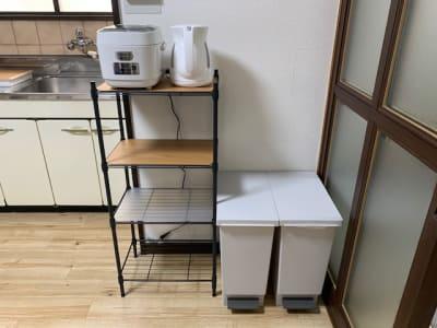 炊飯器・ケトルのご用意もございます。 - AXA舟入 多目的スペース【703】の設備の写真