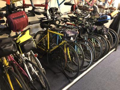 自転車 - トーキョーグレートツアーズ カヤック体験付きワークスペースの設備の写真