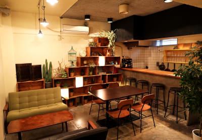 秘密基地の様なワクワクするカフェスペース。 - シェアキッチンL1PCafe シェアキッチンの室内の写真