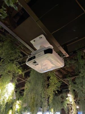 プロジェクター - リワイルドアウトドアトーキョー 用途多彩!貸切カフェの設備の写真