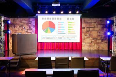 ステージ - パセラリゾーツ横浜関内店 グレースバリ横浜関内店4Fの室内の写真