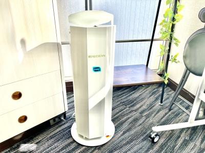 紫外線除菌の空気清浄機設置。 クリーンな空間を保ちます。 - ドゥーズ@名駅 レンタルサロン、レンタルスペースの室内の写真