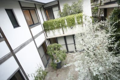 昼の中庭(2階から) - アユアラングレース レンタルエステサロンのその他の写真