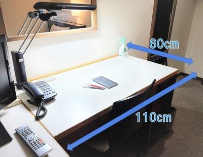 ホテルアスティア名古屋栄 テレワーク・プライベート空間Dの設備の写真
