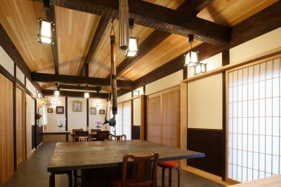 結眞庵 貸しスペース(1階)の入口の写真