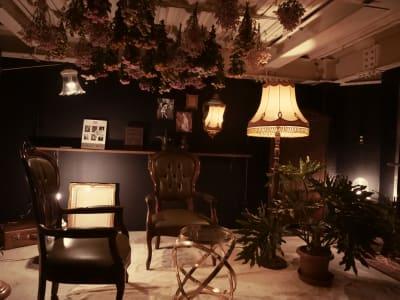 スペースサイズ目安 およそ4000mm×4700mm 天井高2300mmこじんまりして落ち着く小さなお部屋です  - Litereer リテリア 撮影スペース ワークスペースの室内の写真