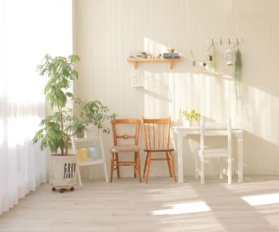 ウッドのホワイトパネル - ブルックススタジオ テラス付きハウススタジオ の室内の写真