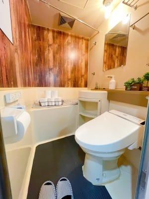 トイレ - MeetingSpace705号 貸し会議室705の室内の写真