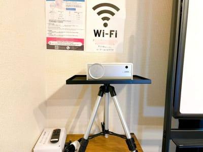 無料wi-fi - MeetingSpace705号 貸し会議室705の設備の写真