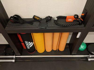 ケーブルアタッチメント パワーグリップ Bluetoothスピーカー - Muscroom(マッスルーム) マッスルーム208号室 ジムの設備の写真