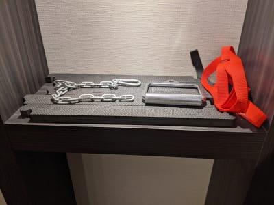 ケーブルアタッチメント - Muscroom(マッスルーム) マッスルーム208号室 ジムの設備の写真