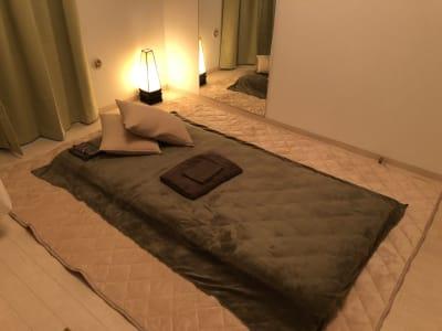 施術部屋(ベッドも可) - メンズ麻布サロン、麻布サロン 麻布サロン、レンタルサロンの室内の写真