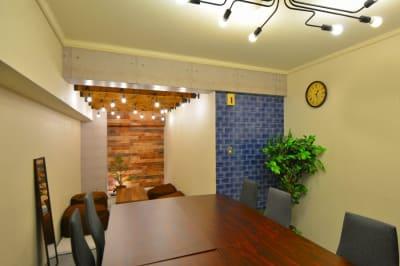 アイコンスペース「マグリブ」の室内の写真