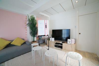 063_fika池尻大橋 キッチンスペースの室内の写真