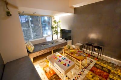 079_Lagom渋谷道玄坂 キッチンスペースの室内の写真